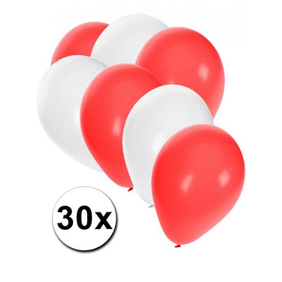 Pools ballonnen pakket 30x