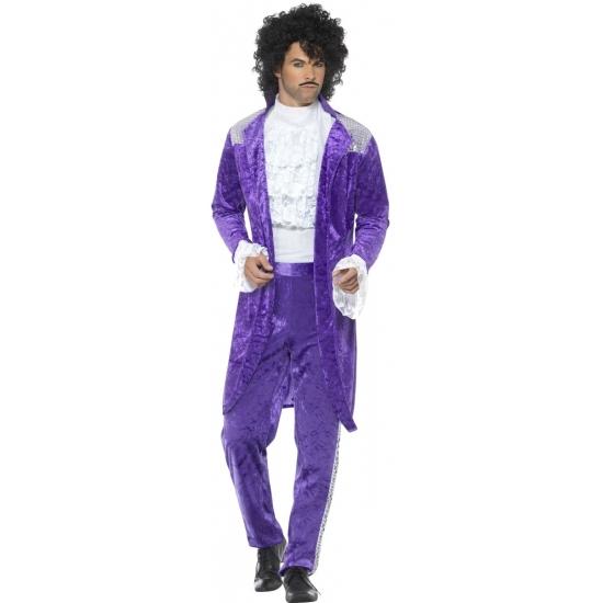 Prince look-a-like verkleedkleding voor heren