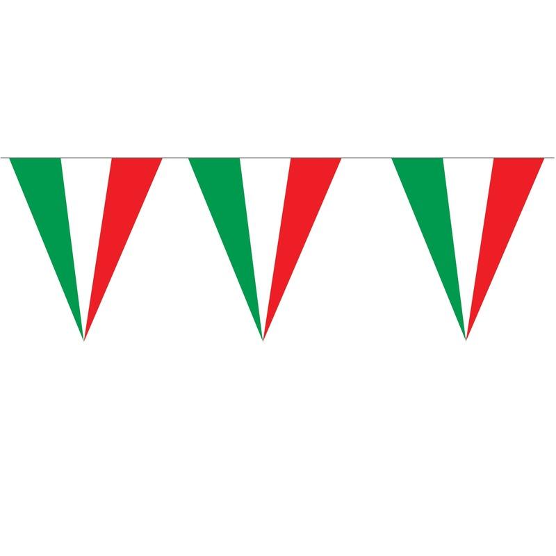 Puntvlaggetjes Italie 5 meter