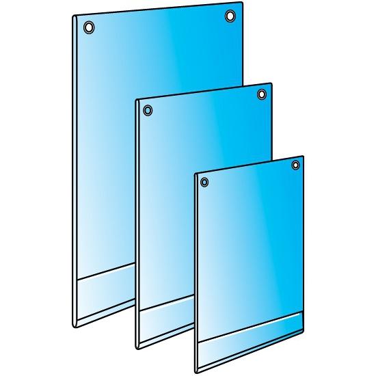 PVC plakkaathouder A1