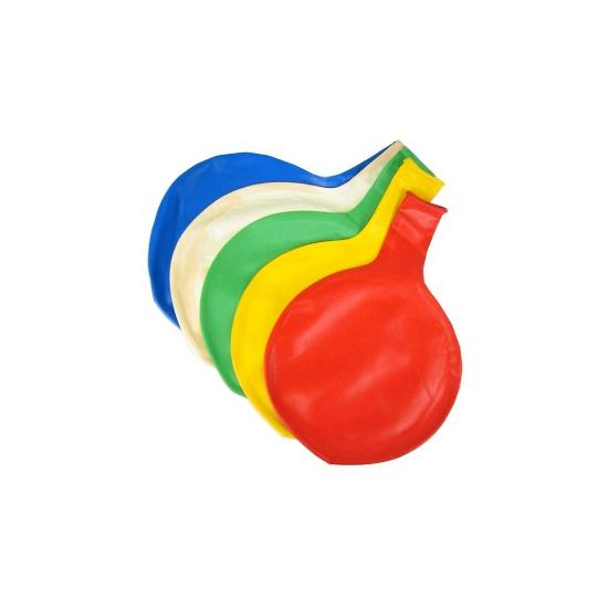 Reuze ballon blauw 65 cm