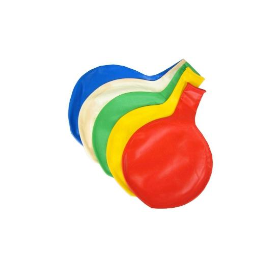 Reuze ballon geel 65 cm