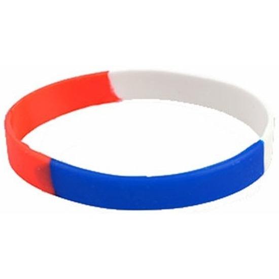 Rood wit blauw armbandje