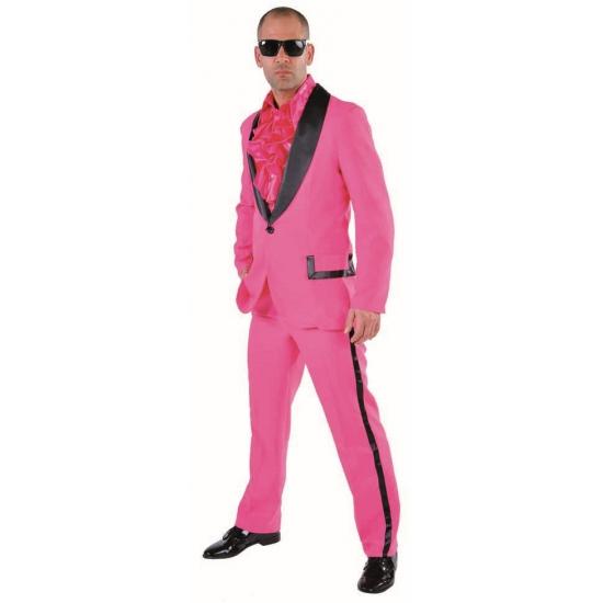 Roze kostuum voor heren