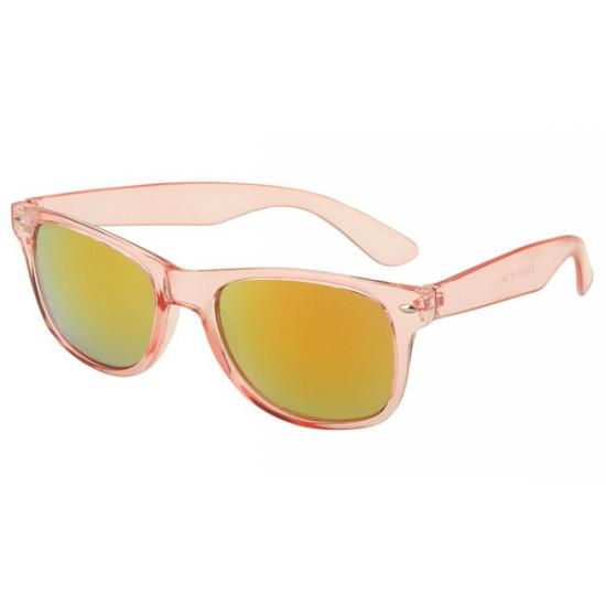 Roze retro zonnebril
