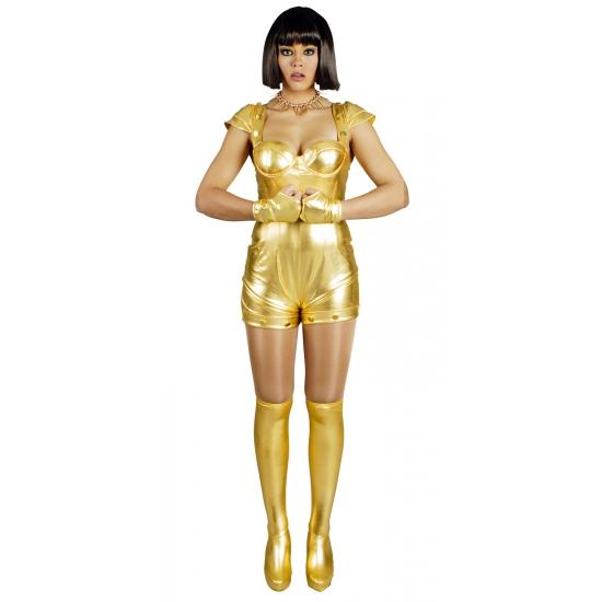 Sexy goud space pakje