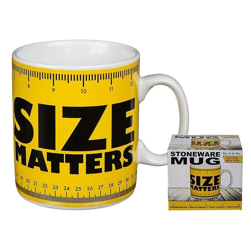 Size matters drinkbeker 850 ml
