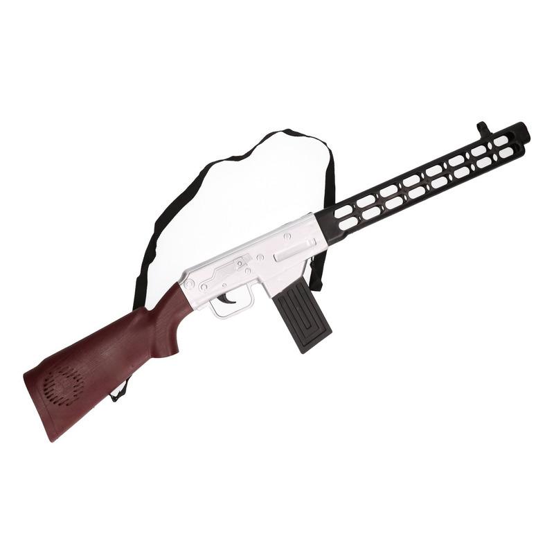 Speelgoed geweer met geluid soldaten/politie 76 cm
