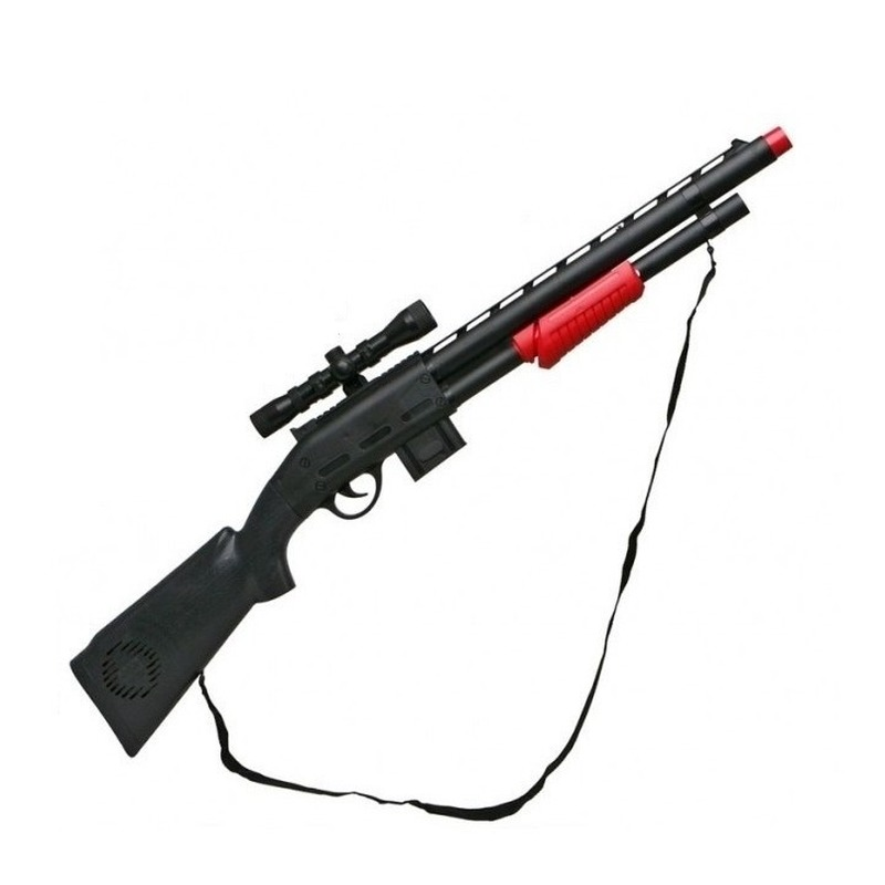 Speelgoed geweer soldaten /politie 68 cm