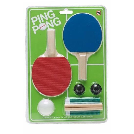 Speelgoed mini Ping Pong setje