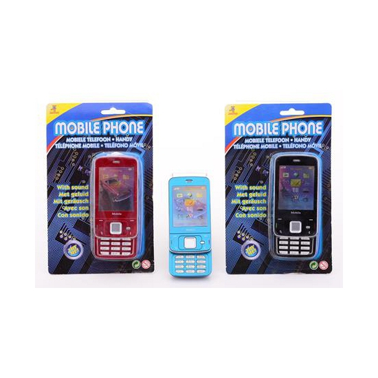 Speelgoed mobieltje met geluid