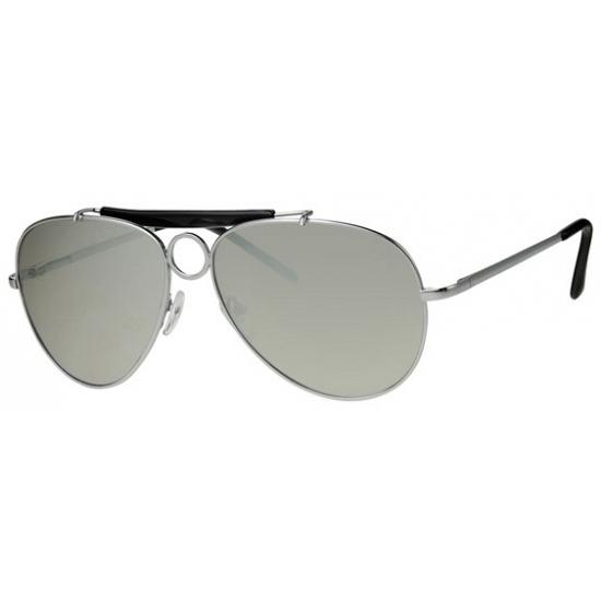 Spiegelglazen zonnebril voor een piloot