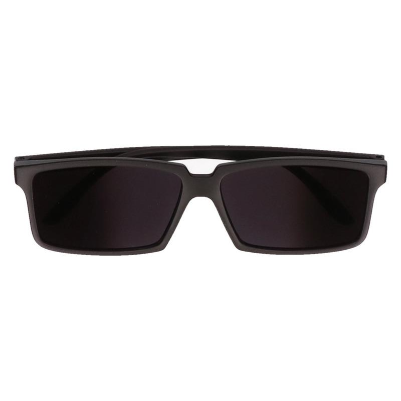 Spion zonnebril met spiegel glazen