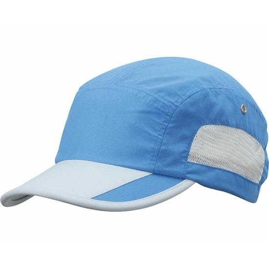 Sportpet blauw/grijs voor volwassenen
