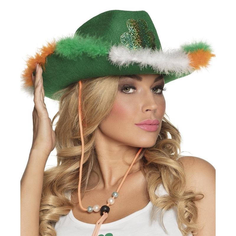St Patricks Day hoed voor dames