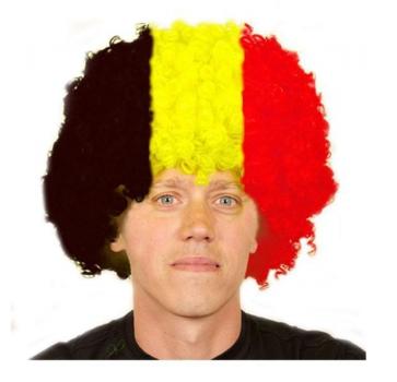 Supporter pruik Belgi?