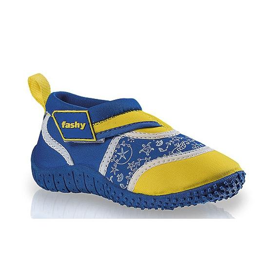 Surf schoenen voor kinderen blauw geel