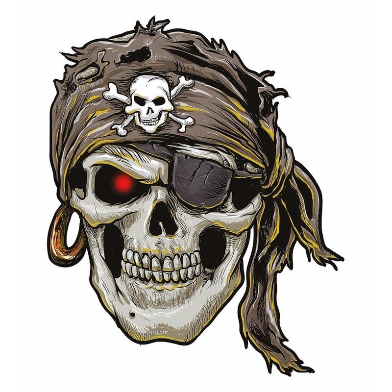 Tattoo piraten plak stickers XXL
