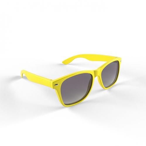 Trendy zonnebrillen geel