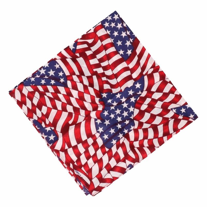 USA bandana kleine vlaggetjes