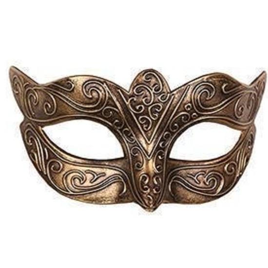 Venetiaans masker loup goud