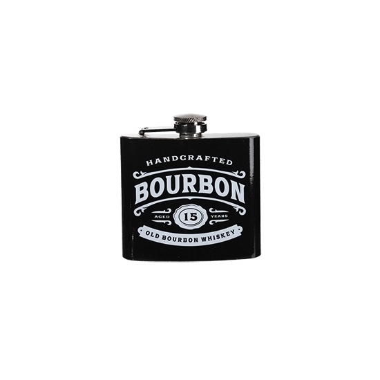 Vintage heupflacon bourbon 150 ml