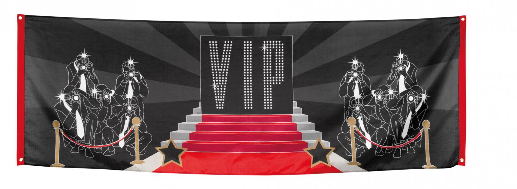 VIP spandoek 74 x 220 cm