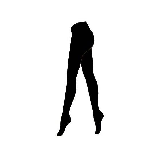 Voordelige Pieten maillot zwart voor dames