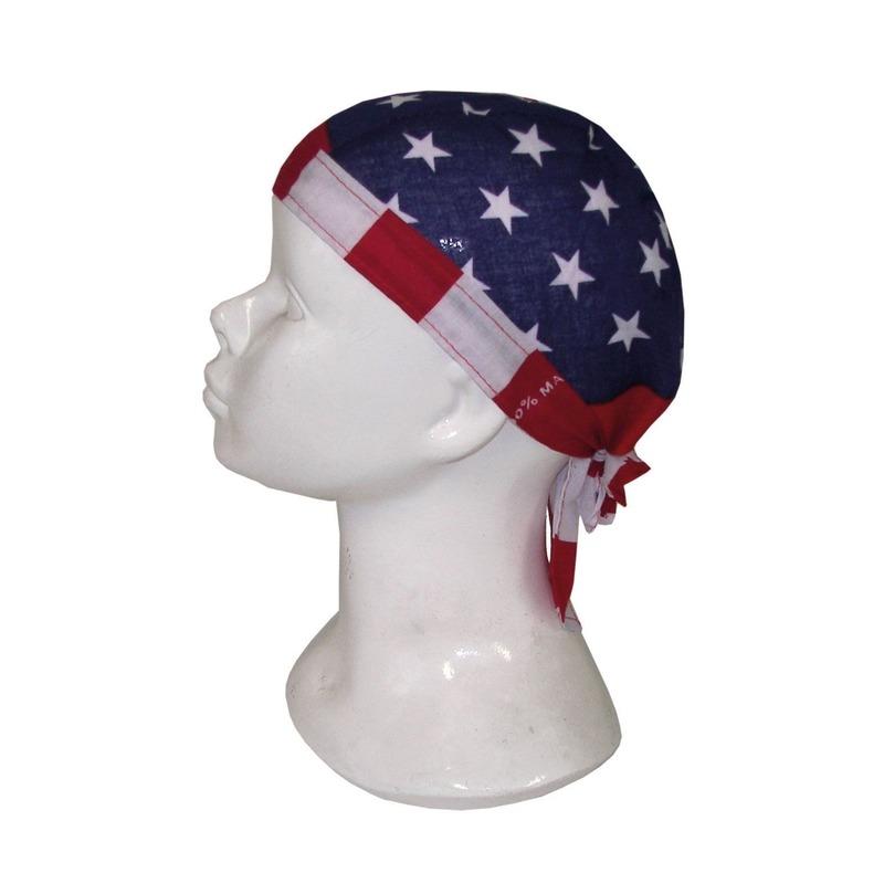 Voorgevormde USA bandana