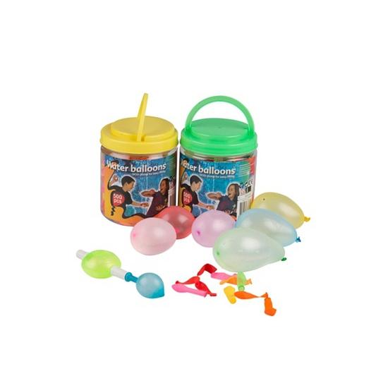 Waterballonnen met pomp 500 stuks