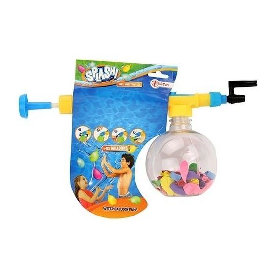 Waterballonnenpompje inclusief 50 ballonnen