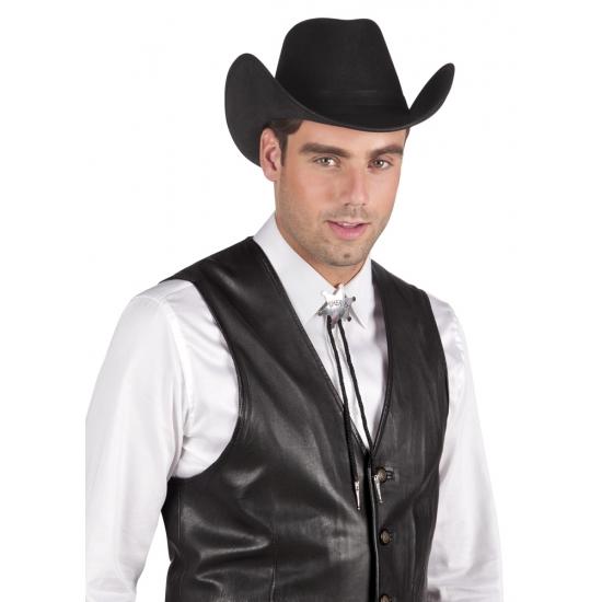 Wilde westen sheriff ster zilver