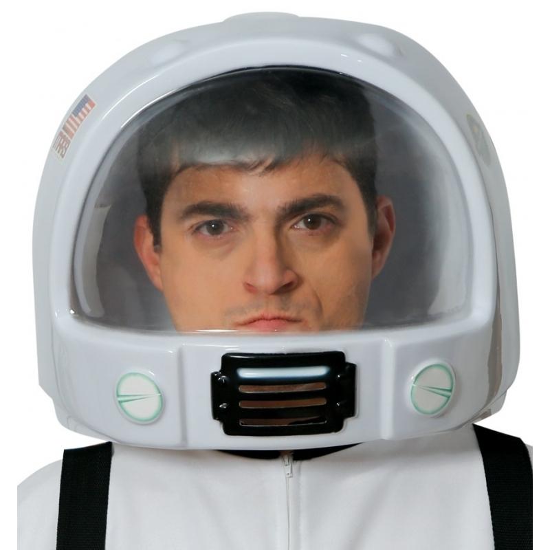 Witte astronauten helm
