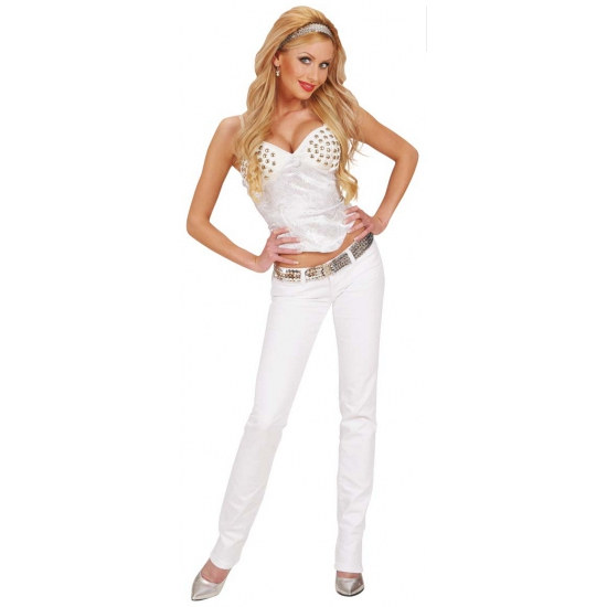 Witte party kleding dames