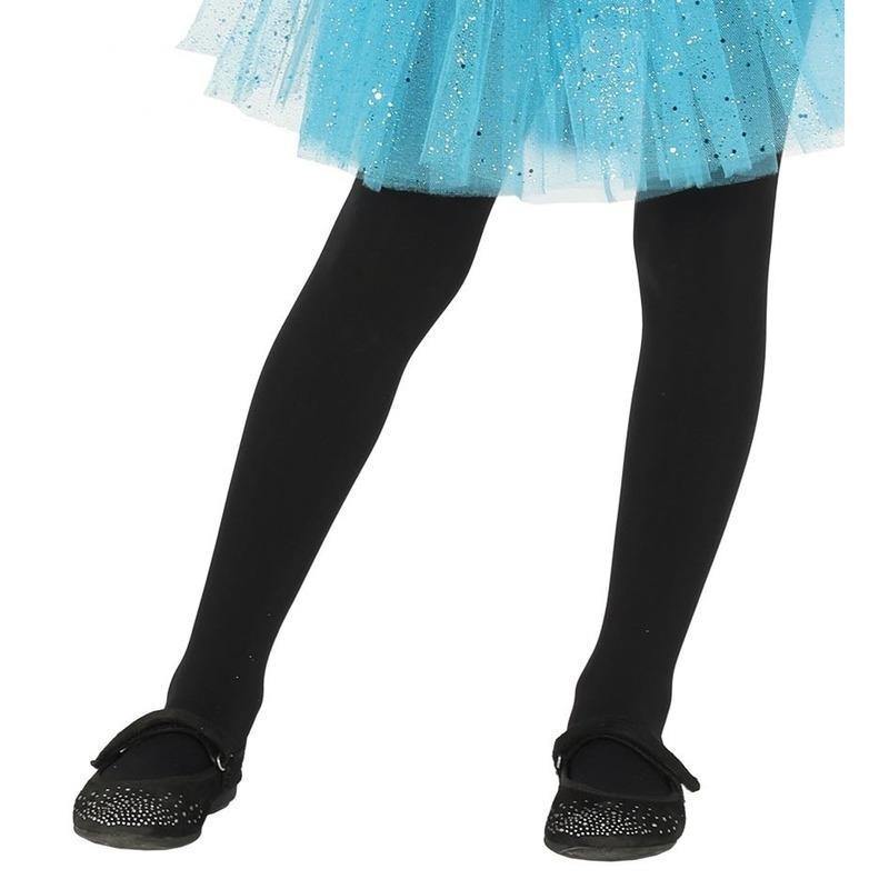 Zwarte kinder panty 5-9 jaar
