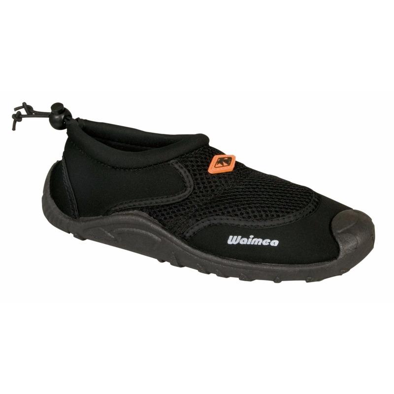 Zwarte waterschoenen/surfschoenen voor jongens